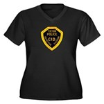 Tucson CID Women's Plus Size V-Neck Dark T-Shirt