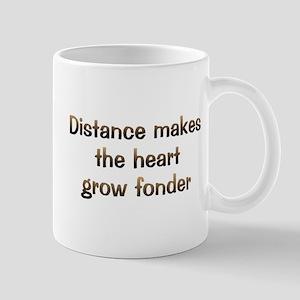 CW Distance Makes Mug