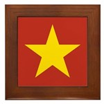People's Republic of China Framed Tile