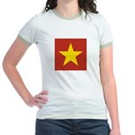 People's Republic of China Jr. Ringer T-Shirt