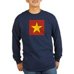 People's Republic of China Long Sleeve Dark T-Shir