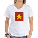 People's Republic of China Women's V-Neck T-Shirt