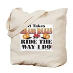 It takes Brass Balls Tote Bag