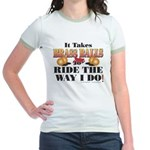 It takes Brass Balls Jr. Ringer T-Shirt