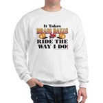 It takes Brass Balls Sweatshirt