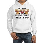 It takes Brass Balls Hooded Sweatshirt