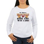 It takes Brass Balls Women's Long Sleeve T-Shirt