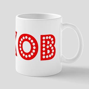 Retro Jakob (Red) Mug
