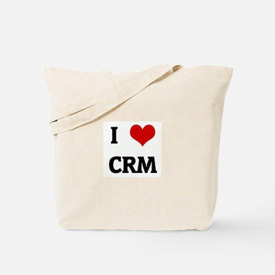 I Love CRM Tote Bag
