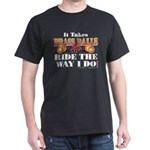 It takes Brass Balls Dark T-Shirt