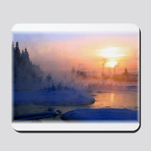 Mountain Sun Rise Mousepad