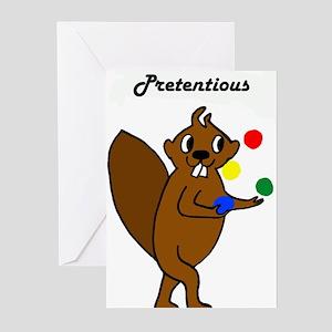 Komm Mit Beaver - Scheusslich Greeting Cards (Pk o
