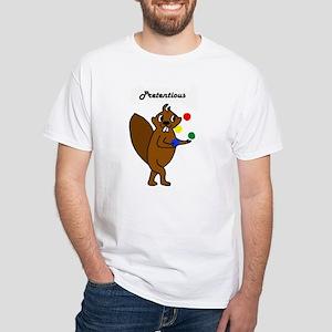 Komm Mit Beaver - Scheusslich White T-Shirt