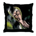 Sexy Plant Vore Throw Pillow