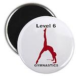Gymnastics Magnet - Level 6