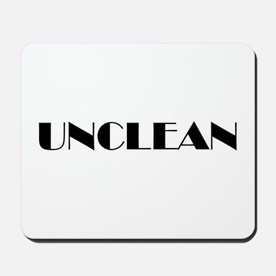 Unclean Mousepad