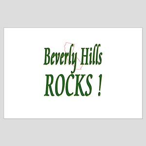 Beverly Hills Rocks ! Large Poster