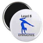 Gymnastics Magnet - Level 8