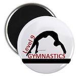 Gymnastics Magnet - Level 9