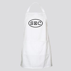 SEC Oval BBQ Apron