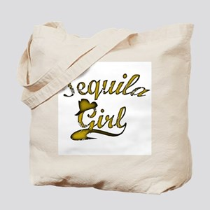 Tequila Girl Hat Tote Bag