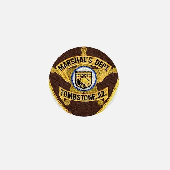 Tombstone Marshal Mini Button