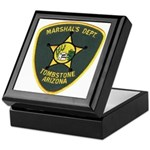 Marshal Tombstone Keepsake Box