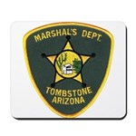 Marshal Tombstone Mousepad