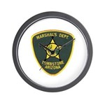 Marshal Tombstone Wall Clock
