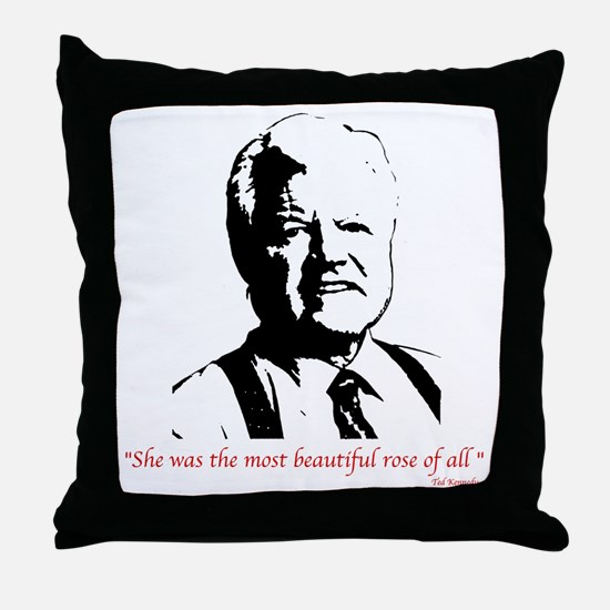 Ted Kennedy Throw Pillow