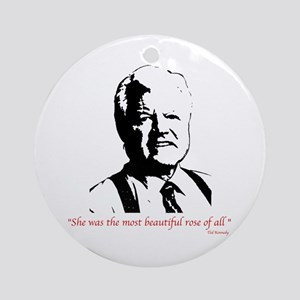 Ted Kennedy Ornament (Round)