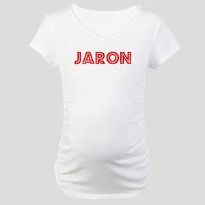 Retro Jaron (Red) Maternity T-Shirt