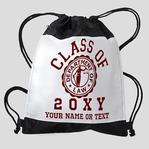 Class of 20XX Law Drawstring Bag