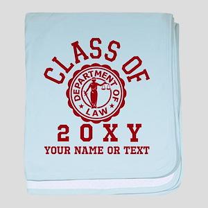 Class of 20XX Law baby blanket