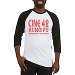 Cine 42 Kung Fu Tee Baseball Jersey