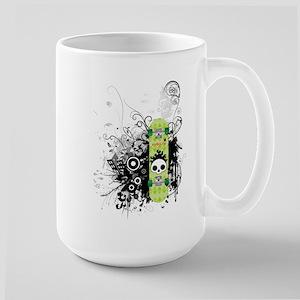 Sk8 Skullz Large Mug
