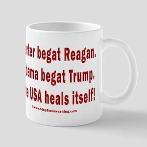 USA Heals Itself 11 oz Ceramic Mug