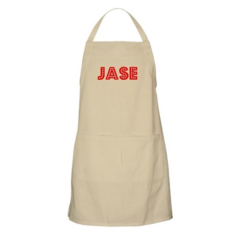 Retro Jase (Red) BBQ Apron
