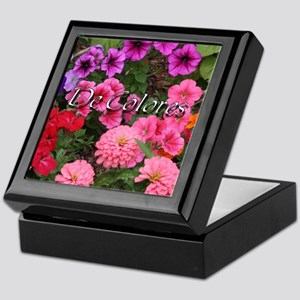 Floral De Colores Keepsake Box