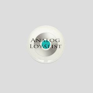 Analog Loyalist Mini Button