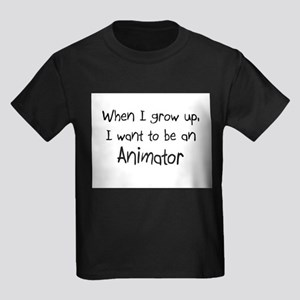 When I grow up I want to be an Animator Kids Dark