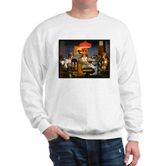 Dogs Playing RPGs! Sweatshirt