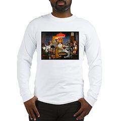 Dogs Playing RPGs! Long Sleeve T-Shirt