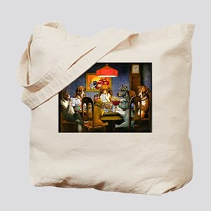 Dogs Playing RPGs! Tote Bag