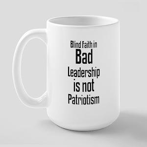 Blind Faith Large Mug