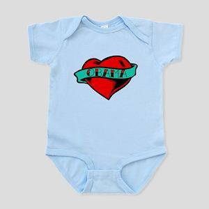 Obama Heart Tattoo Infant Bodysuit