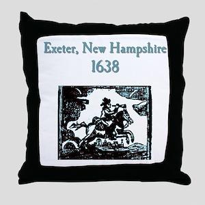 Exeter NH Throw Pillow