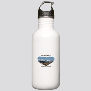 Montana Dirt Roads Stainless Water Bottle 1.0L