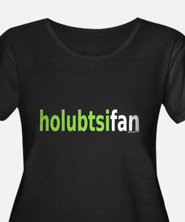 HolubtsiFan Women's Plus Size Scoop Dark T-Shirt