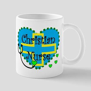 christian nurse Mugs